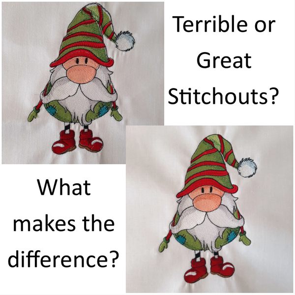 What makes a stitchout terrible or great