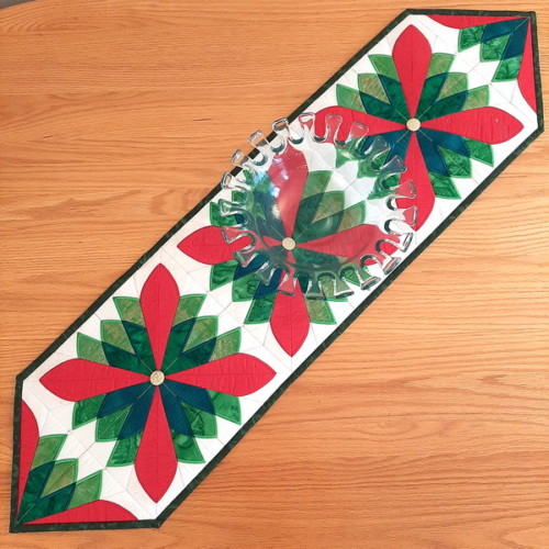 Christmas Fan Table Runner