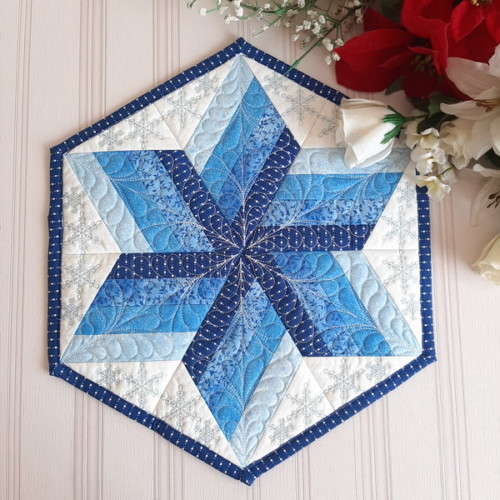 Winter Star Table Topper