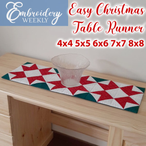 IHQ Easy Christmas Table Runner